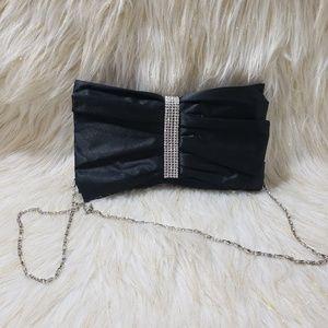 Rhinestone Embellished Crossbody Bag